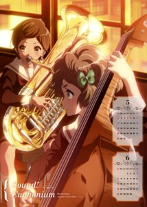Rating: Safe Score: 32 Tags: calendar hibike!_euphonium katou_hazuki_(hibike!_euphonium) kawashima_sapphire seifuku User: drop