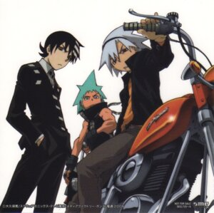 Rating: Safe Score: 7 Tags: black_star death_the_kid male screening soul_eater soul_eater_(character) User: CureMoe
