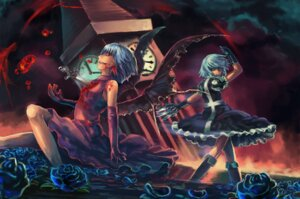 Rating: Safe Score: 8 Tags: izayoi_sakuya remilia_scarlet tasmaniadevil touhou User: Mr_GT
