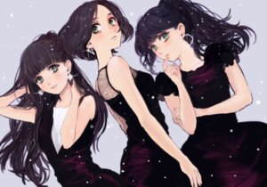 Rating: Safe Score: 26 Tags: a~chan dress kashiyuka nocchi nou_(pixiv65841) perfume User: animeprincess