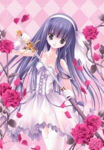 Rating: Safe Score: 33 Tags: duel_dolls lolita_fashion pantsu see_through sword thighhighs tinkle User: syaoran-kun