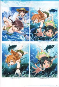 Rating: Safe Score: 8 Tags: bikini charlotte_e_yeager francesca_lucchini gertrud_barkhorn miyafuji_yoshika strike_witches swimsuits tagme User: Nepcoheart