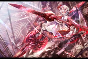Rating: Safe Score: 26 Tags: dress remilia_scarlet torinoakua touhou wings User: eridani