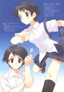 Rating: Safe Score: 5 Tags: amaduyu_tatsuki blazer_one konno_makoto toki_wo_kakeru_shoujo User: aoie_emesai