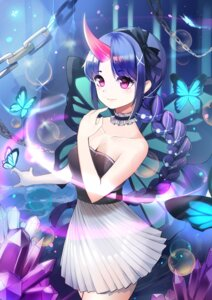 Rating: Safe Score: 19 Tags: cleavage dress horns meliyannn wings User: charunetra