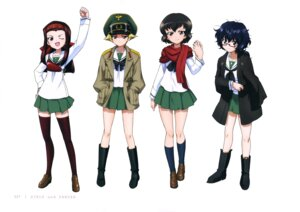 Rating: Safe Score: 17 Tags: caesar erwin girls_und_panzer megane oryou_(girls_und_panzer) saemonza seifuku thighhighs uniform User: drop