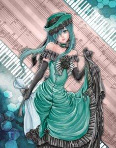 Rating: Safe Score: 13 Tags: cosplay crossover dress hatsune_miku kuroshitsuji vocaloid User: charunetra