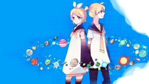 Rating: Safe Score: 7 Tags: kagamine_len kagamine_rin ky692 vocaloid User: charunetra
