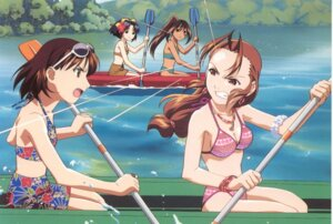 Rating: Safe Score: 6 Tags: bikini cleavage starship_girl_yamamoto_yohko swimsuits watanabe_akio User: Radioactive
