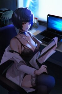 Rating: Questionable Score: 37 Tags: cleavage lingerie persona_5 takemi_tae thighhighs zenghuimin User: Mr_GT