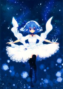 Rating: Safe Score: 30 Tags: dress konno_kengo thighhighs uni-guru User: yong