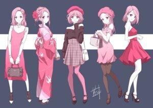 Rating: Safe Score: 23 Tags: dress heels nii_manabu pantyhose yukata User: saemonnokami