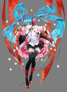 Rating: Safe Score: 47 Tags: asian_clothes hatsune_miku headphones tagme tattoo thighhighs transparent_png vocaloid User: lovelyshana