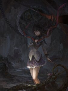 Rating: Safe Score: 39 Tags: akemi_homura dress puella_magi_madoka_magica tianya_beiming User: Mr_GT