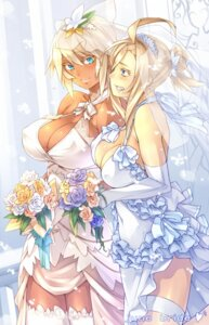 Rating: Safe Score: 69 Tags: cleavage dress real_xxiii thighhighs wedding_dress User: Mr_GT