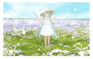 Rating: Safe Score: 33 Tags: artist_revision dress hatsune_miku lf summer_dress vocaloid User: Mr_GT