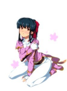 Rating: Safe Score: 13 Tags: breast_hold onsen_(artist) sakura_taisen shinguuji_sakura User: eridani