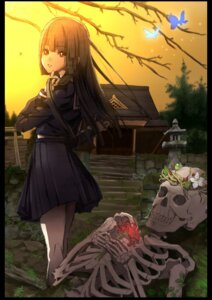 Rating: Safe Score: 11 Tags: enma_ai jigoku_shoujo seifuku su_meen User: charunetra