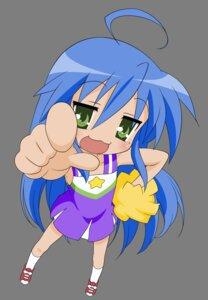 Rating: Safe Score: 11 Tags: cheerleader izumi_konata lucky_star transparent_png vector_trace User: Shuugo