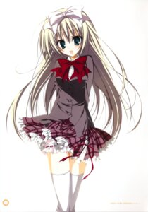 Rating: Safe Score: 37 Tags: inugami_kira seifuku seitokai_no_ichizon shiina_mafuyu thighhighs User: WtfCakes
