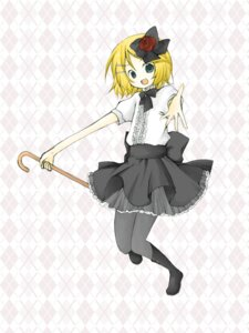 Rating: Safe Score: 1 Tags: kagamine_rin pantyhose tomine_chiho vocaloid User: charunetra