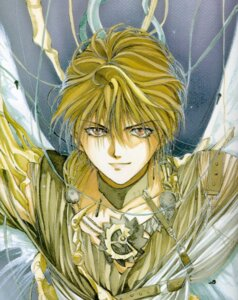 Rating: Safe Score: 1 Tags: angel angel_sanctuary male mudou_setsuna wings yuki_kaori User: oldwrench