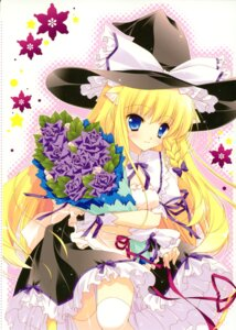 Rating: Safe Score: 23 Tags: animal_ears kirisame_marisa nekomimi shigunyan thighhighs touhou User: midzki