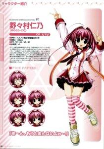 Rating: Safe Score: 11 Tags: clochette nonomura_nino oshiki_hitoshi profile_page seifuku suzunone_seven thighhighs User: admin2