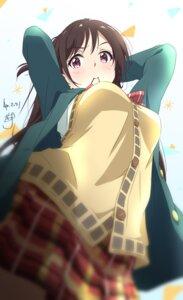 Rating: Safe Score: 47 Tags: kanojo_okarishimasu mizuhara_chizuru nii_manabu seifuku sweater User: Dreista