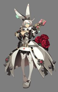 Rating: Questionable Score: 24 Tags: cleavage dress elphelt_valentine guilty_gear guilty_gear_xrd_revelator heels no_bra open_shirt thighhighs transparent_png weapon User: Yokaiou