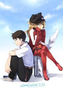 Rating: Safe Score: 23 Tags: ikari_shinji neon_genesis_evangelion real_xxiii souryuu_asuka_langley User: Radioactive