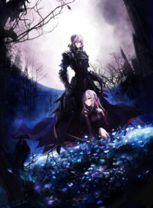 Rating: Safe Score: 58 Tags: dark_sakura fate/stay_night matou_sakura saber saber_alter stu_dts User: sxxiaoou