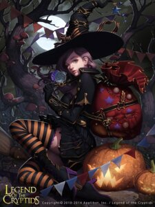 Rating: Safe Score: 46 Tags: dress halloween heels lange legend_of_the_cryptids thighhighs witch User: Mr_GT