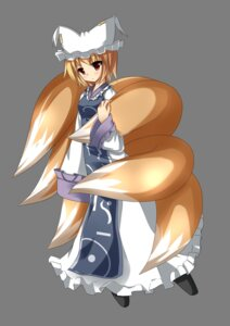 Rating: Safe Score: 9 Tags: liya tail touhou transparent_png yakumo_ran User: charunetra