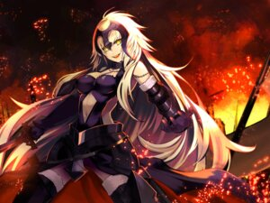 Rating: Safe Score: 45 Tags: armor fate/grand_order jeanne_d'arc jeanne_d'arc_(alter)_(fate) nira_ika_nai sword thighhighs User: animeprincess