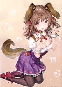 Rating: Questionable Score: 18 Tags: animal_ears cleavage heels momoko_(momopoco) pantyhose tagme tail User: Radioactive