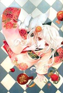 Rating: Safe Score: 13 Tags: animal_ears kimono minakami_kaori User: Davison