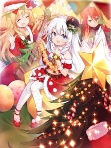 Rating: Safe Score: 13 Tags: christmas dress guitar heels soul_worker takotsu User: Mr_GT