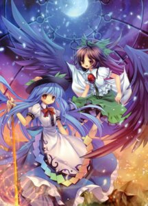 Rating: Safe Score: 25 Tags: capura.l eternal_phantasia hinanawi_tenshi reiuji_utsuho touhou User: midzki