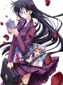 Rating: Safe Score: 12 Tags: megane ryuuga_shou seifuku tsurugi_no_mai! User: RuriRuri