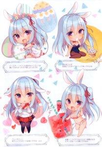 Rating: Questionable Score: 12 Tags: animal_ears bikini bunny_ears bunny_girl chibi dress ichiri seifuku swimsuits User: kiyoe