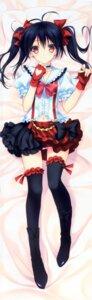 Rating: Questionable Score: 117 Tags: dakimakura garter love_live! makrassky pantsu suzuhira_hiro thighhighs yazawa_nico User: 雪車町