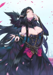Rating: Safe Score: 100 Tags: ceda cleavage fate/apocrypha fate/grand_order fate/stay_night pointy_ears semiramis_(fate) skirt_lift User: Nepcoheart