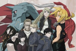 Rating: Safe Score: 15 Tags: alphonse_elric dante_(full_metal_alchemist) edward_elric envy fullmetal_alchemist riza_hawkeye roy_mustang van_hohenheim winry_rockbell User: Radioactive