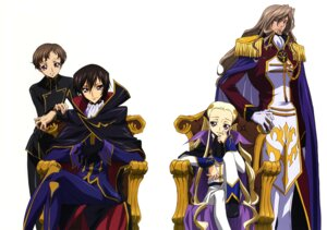 Rating: Safe Score: 10 Tags: charles_di_britannia code_geass kawaguchi_rie lelouch_lamperouge male rollo_lamperouge v.v. User: Aurelia