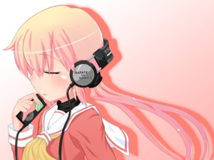Rating: Safe Score: 19 Tags: asana_tsukune hayate_no_gotoku headphones katsura_hinagiku seifuku wallpaper User: fireattack