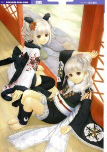 Rating: Safe Score: 14 Tags: japanese_clothes jpeg_artifacts taue_shunsuke thighhighs User: abdd