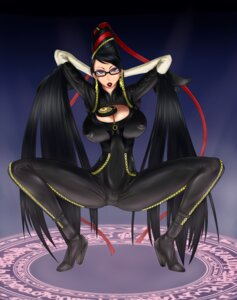 Rating: Questionable Score: 26 Tags: bayonetta bayonetta_(character) bodysuit cleavage erect_nipples heels megane ml User: shuranok