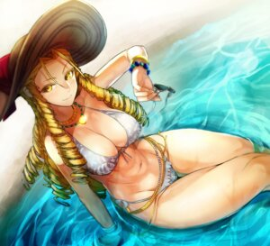 Rating: Safe Score: 42 Tags: bikini cleavage garakuta kanzuki_karin megane street_fighter_v swimsuits wet User: Mr_GT
