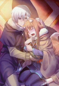Rating: Safe Score: 8 Tags: animal_ears craft_lawrence holo koume_keito spice_and_wolf tail User: kiyoe